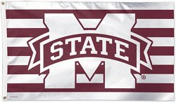 WinCraft Mississippi State Bulldogs Stars and Stripes Deluxe Flag