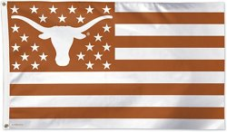 WinCraft Texas Longhorns Stars and Stripes Deluxe Flag