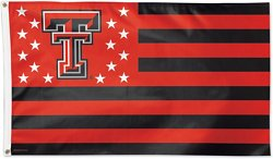 WinCraft Texas Tech Red Raiders Stars and Stripes Stripes Deluxe Flag
