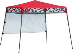 ShelterLogic Go Hybrid 7 ft x 7 ft Slant-Leg Pop-Up Canopy with Half Wall