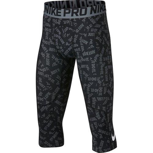 Nike Boys' Pro 3/4-Length Printed Tights