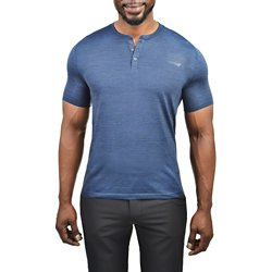 Men's Pro Seamless Short Sleeve Henley