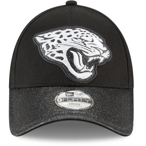 New Era Girls' Jacksonville Jaguars 9FORTY Shimmer Shine Cap