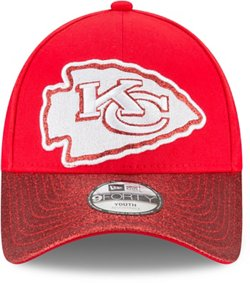 New Era Girls' Kansas City Chiefs 9FORTY Shimmer Shine Cap