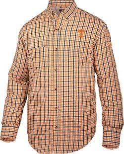 Men's University of Tennessee Gingham Wingshooter's Long Sleeve Shirt