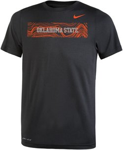 Nike Boys' Oklahoma State University Legend Sideline T-shirt