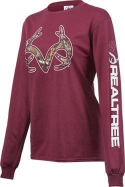 Realtree Women's Long Sleeve T-shirt