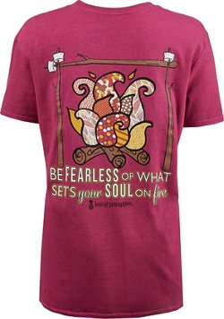 Love & Pineapples Women's Be Fearless T-shirt