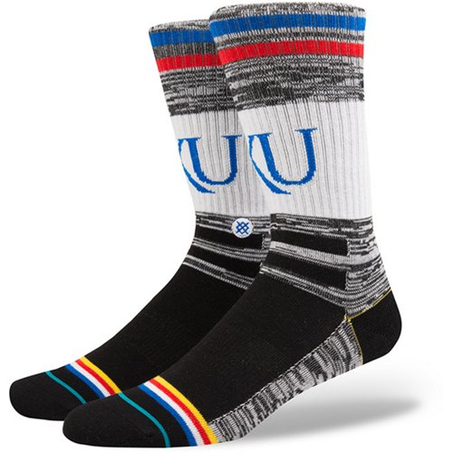 Stance University of Kansas Varsity Crew Socks