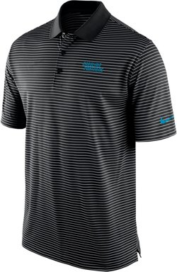 Nike Men's Carolina Panthers Stadium Perf Polo Shirt