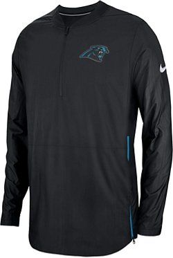 Nike Men's Carolina Panthers Lockdown 1/4-Zip Jacket