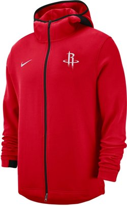 Nike Men's Houston Rockets Dri-FIT Showtime Full Zip Hoodie