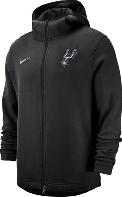 Nike Men's San Antonio Spurs Dri-FIT Showtime Full Zip Hoodie