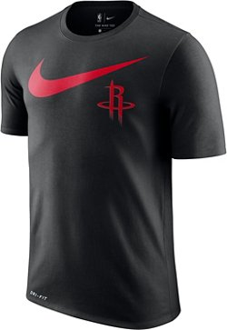 Nike Men's Houston Rockets Dry Essential Swoosh Legend T-shirt