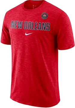 Nike Men's New Orleans Pelicans Essential Facility Wordmark T-shirt