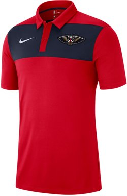 Nike Men's New Orleans Pelicans Statement Polo Shirt