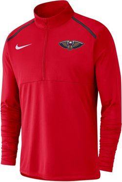 Nike Men's New Orleans Pelicans Dry Element 1/2 Zip Top