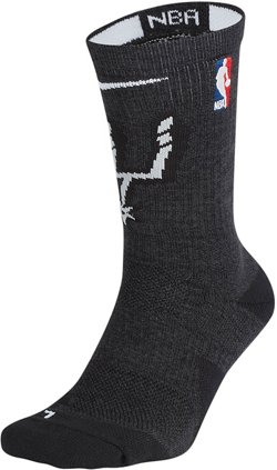 Nike San Antonio Spurs Elite Crew Socks