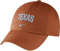 Nike Men's University of Texas Heritage86 Adjustable Wordmark Cap