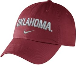 Nike Men's University of Oklahoma Heritage86 Adjustable Wordmark Cap