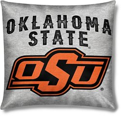 The Northwest Company Oklahoma State University 16 in x 16 in Sweatshirt Knit Pillow