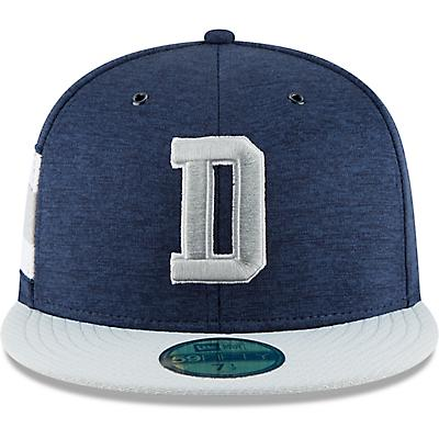 b88c34b28ab New Era Men s Dallas Cowboys  18 Sideline Home 59FIFTY Cap - view number 6.  Hover Click to enlarge