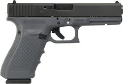 Glock G20 Gen4 Gray/Blk 10mm AUTO Full-Sized 15-Round Pistol