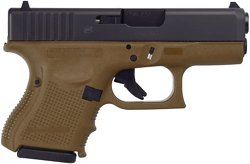 GLOCK G26 G4 FDE 9mm Semiautomatic Pistol