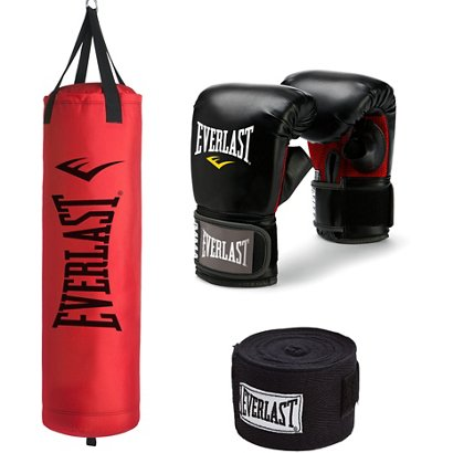 74c67d126 ... Everlast 70 lb Synthetic Heavy Bag Kit. Heavy Bags. Hover Click to  enlarge