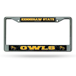 Kennesaw State University Tag Chrome License Plate Frame