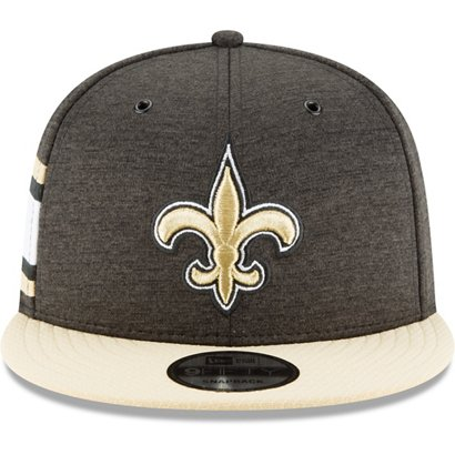 New Era Men s New Orleans Saints 9FIFTY Adjustable Onfield Sideline ... 1908ced61ab