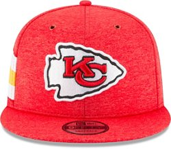 New Era Men's Kansas City Chiefs 9FIFTY Adjustable Onfield Sideline Home Cap