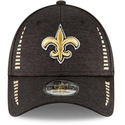 New Era Men's New Orleans Saints 9TWENTY Patched Pride Adjustable Trucker Cap