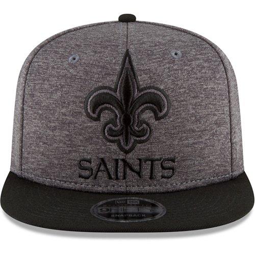 New Era Men's New Orleans Saints 9FIFTY Original Fit Heather Huge Snap Cap