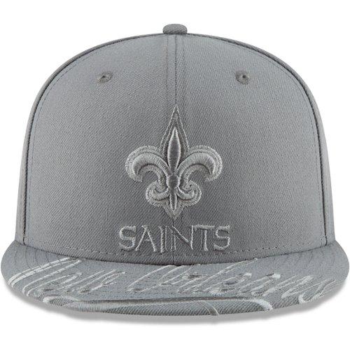 New Era Men's New Orleans Saints Visor Script 59FIFTY Cap