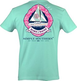 Simply Southern Women's Waves T-shirt