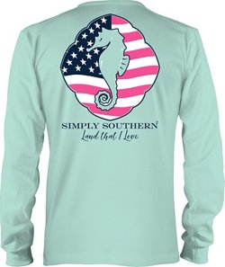Simply Southern Women's Land T-shirt