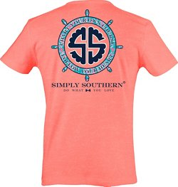 Simply Southern Women's Chart Your Own Course T-shirt