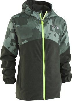 Under Armour Boys' North Rim Print Microfleece Jacket