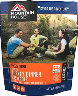 Mountain House Freeze Dried Homestyle Turkey Dinner Casserole