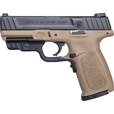 Smith & Wesson SD40 FDE Crimson Trace Laserguard RED Laser 40 S&W  Full-Sized 14-Round Pistol