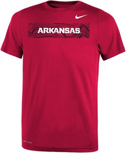 Nike Boys' University of Arkansas Legend Sideline T-shirt