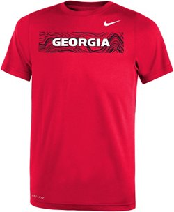 Nike Boys' University of Georgia Legend Sideline T-shirt