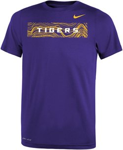 Nike Boys' Louisiana State University Legend Sideline T-shirt