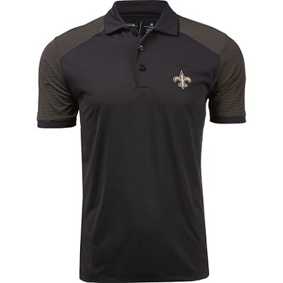 8baaeedd1 ... Men s New Orleans Saints Engage Polo Shirt. New Orleans Saints  Clothing. Hover Click to enlarge