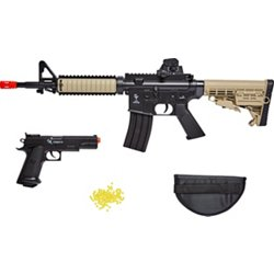 Warrior Protection 6mm Air Rifle and Pistol Kit