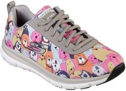 SKECHERS Women's Comfort Flex HC Pro Waggey Work Shoes