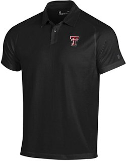 Under Armour Men's Texas Tech University Threadborne Polo Shirt
