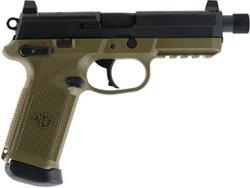 FNX-45 Threaded FDE/BLK NS 45 ACP Full-Sized 15-Round Pistol