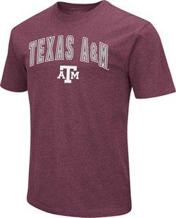Colosseum Athletics Men's Texas A&M University Dual Blend NOW T-shirt